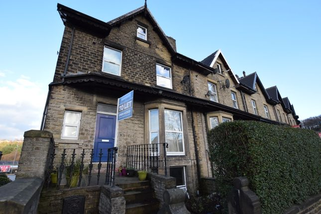 Thumbnail End terrace house to rent in Somerset Road, Almondbury, Huddersfield