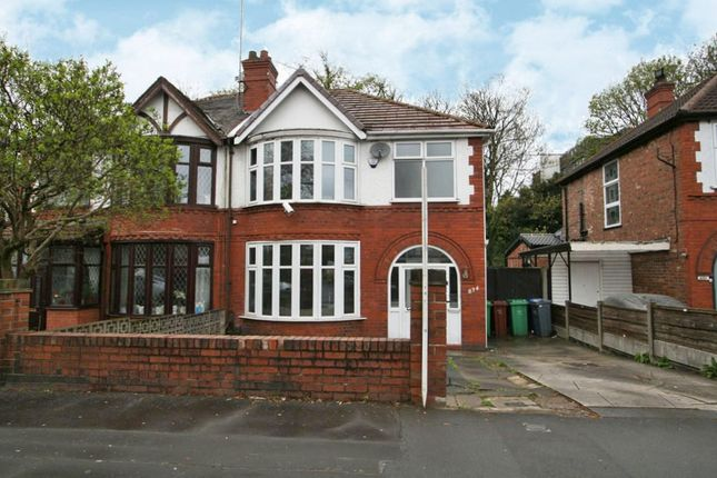Thumbnail Semi-detached house to rent in Kingsway, Manchester, Greater Manchester