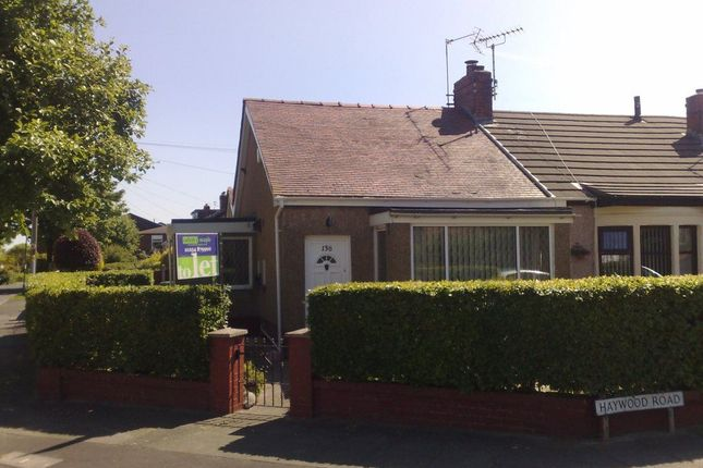Thumbnail Bungalow to rent in Haywood Road, Accrington