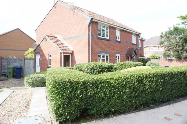 Thumbnail Terraced house for sale in Raleigh Close, Churchdown, Gloucester