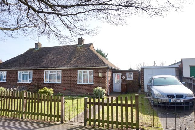 Thumbnail Semi-detached bungalow for sale in Hollywood Lane, Rochester