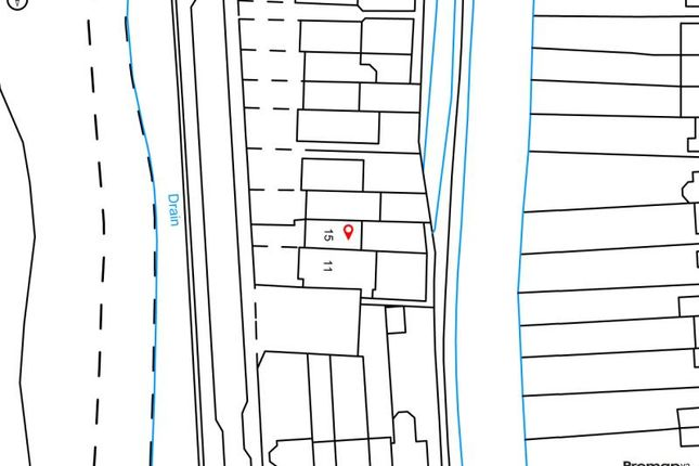 Location of The Villas, Rutherway, Oxford, Oxfordshire OX2