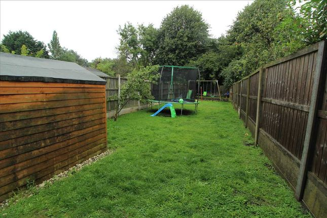 Rear Garden of County Road, Kirkby, Liverpool L32