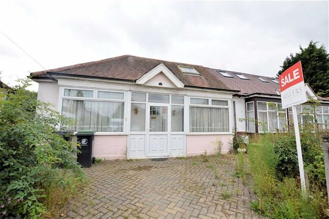 Thumbnail Semi-detached bungalow for sale in Bassett Gardens, North Weald, Epping