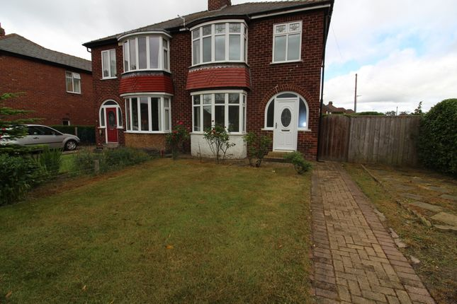 Thumbnail Semi-detached house to rent in South View, Eaglescliffe, Stockton-On-Tees