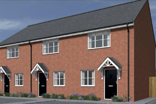 "2 bedroom semi-detached house for sale in Plot 128 St Mary's Place ""The Tanner"" -40% Share, Kidderminster"