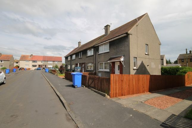 Thumbnail End terrace house to rent in Martin Avenue, Mossblown, Ayr
