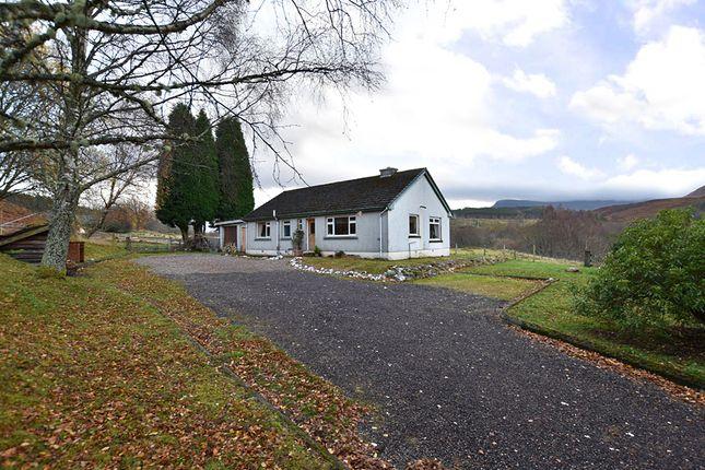 Thumbnail Detached bungalow for sale in 3 Murlaggan, Roy Bridge