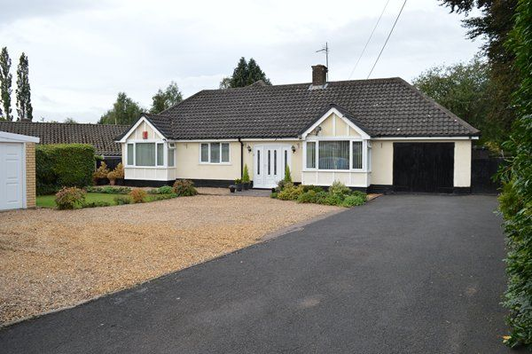 Thumbnail Detached bungalow for sale in Christ Church Lane, Market Drayton