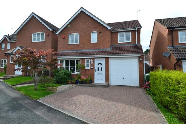 Thumbnail Detached house for sale in Chapelfield Mews, Rubery, Birmingham
