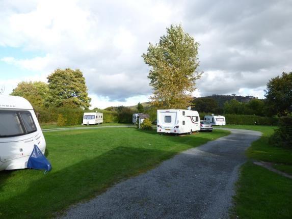Caravan Site of Tal Y Bont, Conwy, North Wales LL32