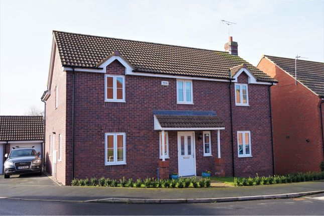 Thumbnail Detached house for sale in Sparrow Hawk Way, Gloucester