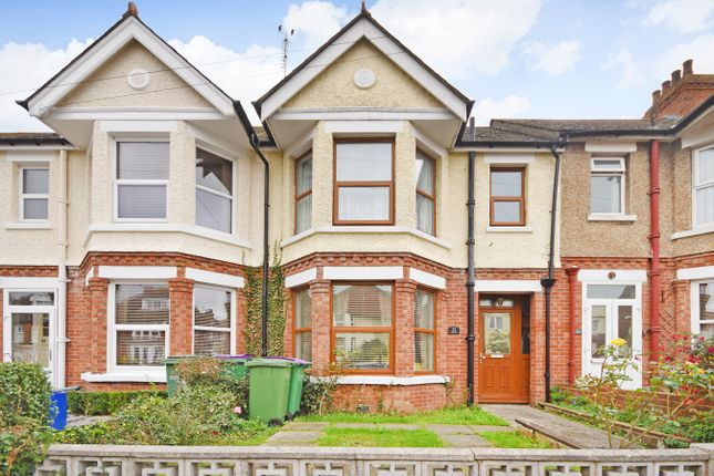 Thumbnail Terraced house for sale in Ashley Avenue, Folkestone
