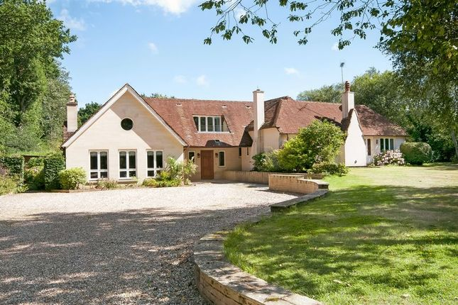 Thumbnail Detached house for sale in School Road, West Wellow, Romsey
