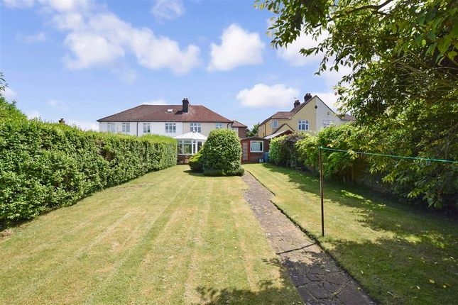 Semi-detached house for sale in Rectory Lane South, Leybourne, Kent