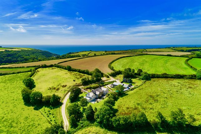 Thumbnail Detached house for sale in Portholland, Roseland Peninsula, South Cornwall