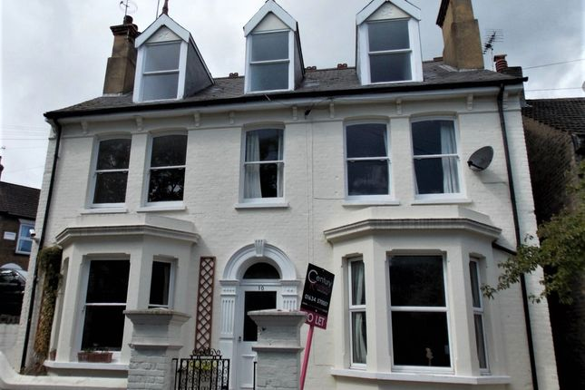 Thumbnail Flat for sale in Albany Road, Rochester