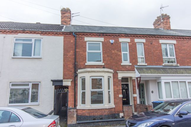 Thumbnail Terraced house to rent in Hunter Street, Rugby