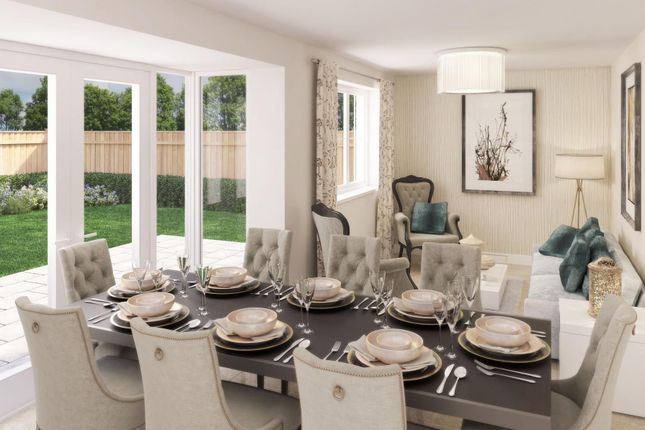 """Thumbnail Detached house for sale in """"Rothbury"""" at Blackthorn Crescent, Brixworth, Northampton"""