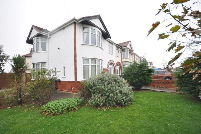 Thumbnail Semi-detached house for sale in Cumberland Avenue, Thornton Cleveleys, Lancashire