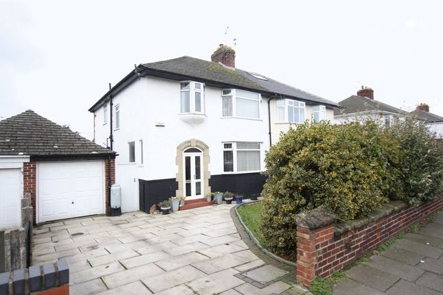 Thumbnail Semi-detached house for sale in Arrowe Road, Greasby, Wirral