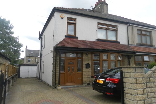 Thumbnail Semi-detached house to rent in Baring Avenue, Bradford