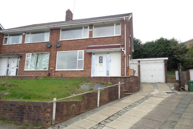 Thumbnail Semi-detached house to rent in Richmond Close, Whitefield, Manchester