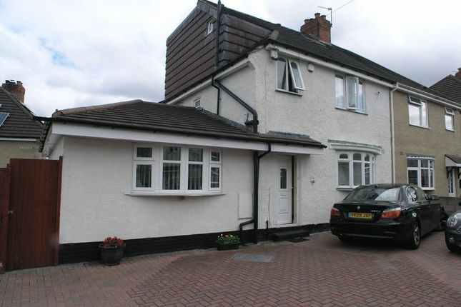 Thumbnail Semi-detached house for sale in Stuart Road, Rowley Regis
