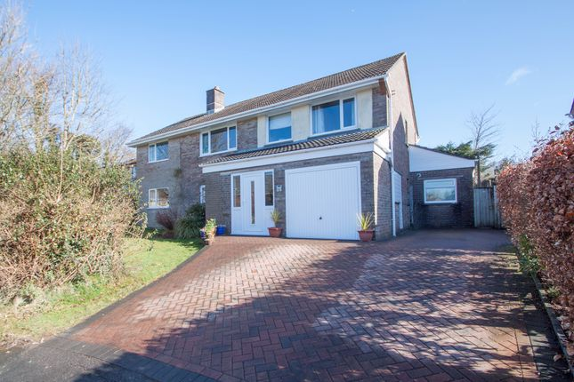Thumbnail Detached house for sale in Hedingham Gardens, Plymouth