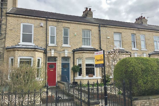 Thumbnail Terraced house for sale in Bishopthorpe Road, York