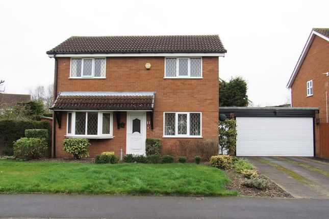 Thumbnail Detached house for sale in Caldeford Avenue, Monkspath, Solihull