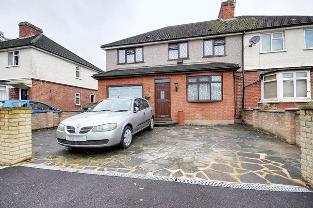 Thumbnail Semi-detached house for sale in Edington Road, Enfield