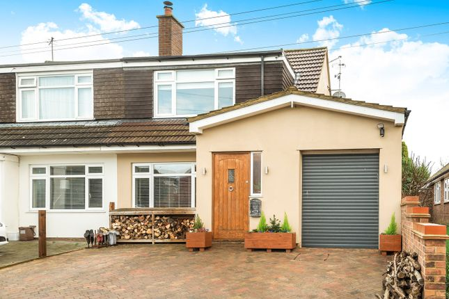 Thumbnail Semi-detached house for sale in Tyburn Lane, Westoning