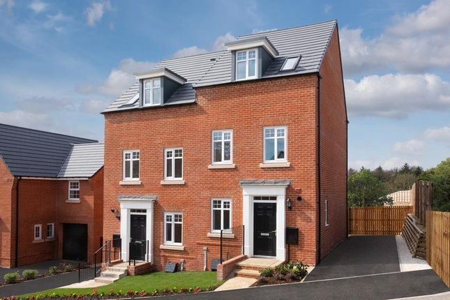 """Thumbnail Semi-detached house for sale in """"Greenwood"""" at Harlequin Drive, Worksop"""