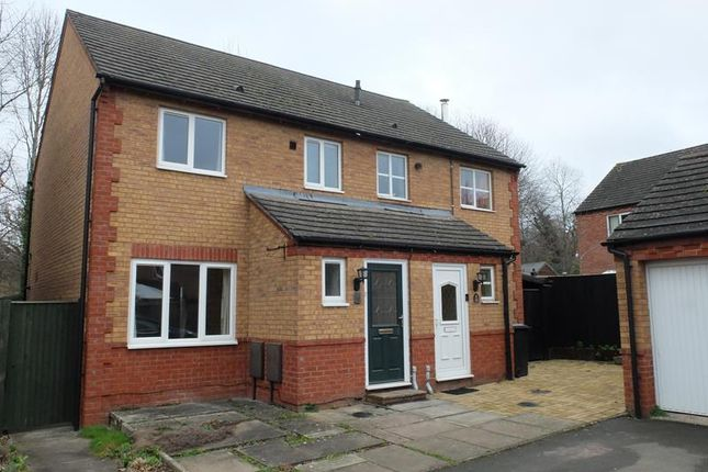 Thumbnail Semi-detached house to rent in 12 Sunshine Close, Ledbury, Herefordshire