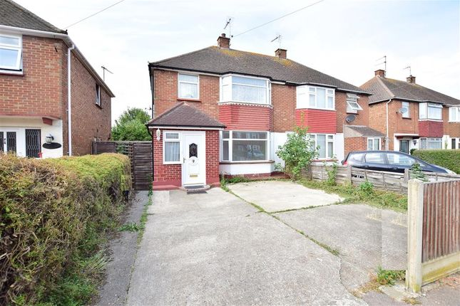 Thumbnail Semi-detached house for sale in Second Avenue, Sheerness, Kent