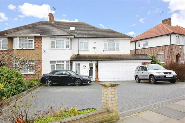Thumbnail Semi-detached house for sale in Cadogan Gardens, Winchmore Hill, London