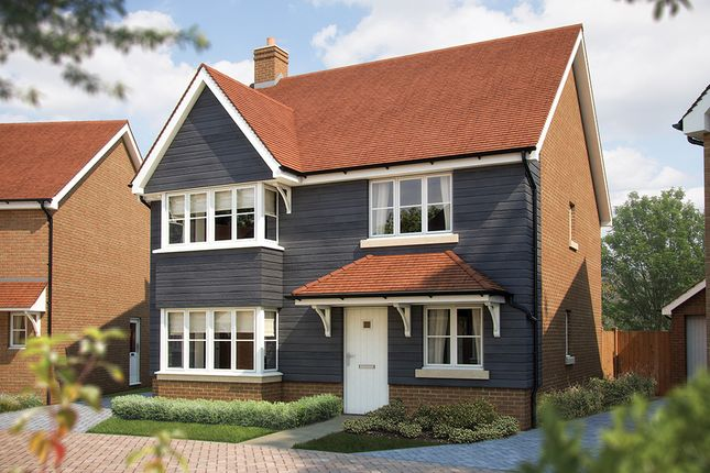 "Thumbnail Detached house for sale in ""The Canterbury"" at Rusper Road, Ifield, Crawley"