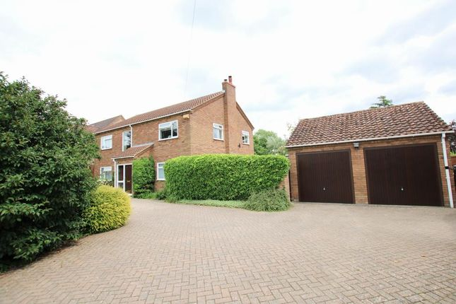 Thumbnail Detached house for sale in The Slade, Witcham, Ely