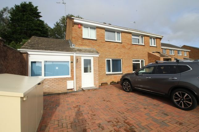 Thumbnail Semi-detached house to rent in Langdon Down Way, Torpoint