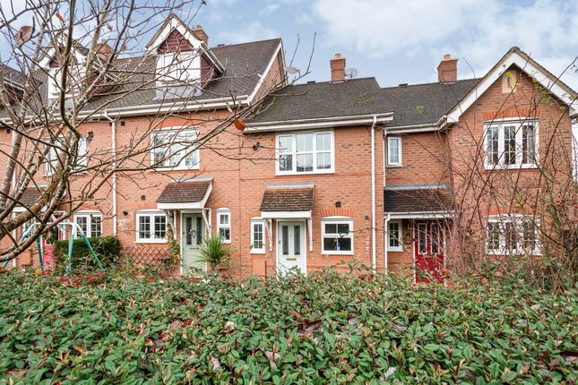 Thumbnail Terraced house to rent in Longmoor Court, Fleet