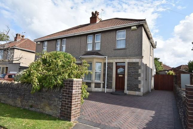 Thumbnail Semi-detached house for sale in Gladstone Street, Staple Hill, Bristol