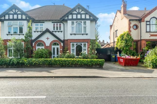 Thumbnail Semi-detached house for sale in Thelwall New Road, Grappenhall, Warrington, Cheshire