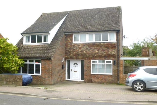 Thumbnail Detached house to rent in Canterbury Road, Lyminge, Folkestone