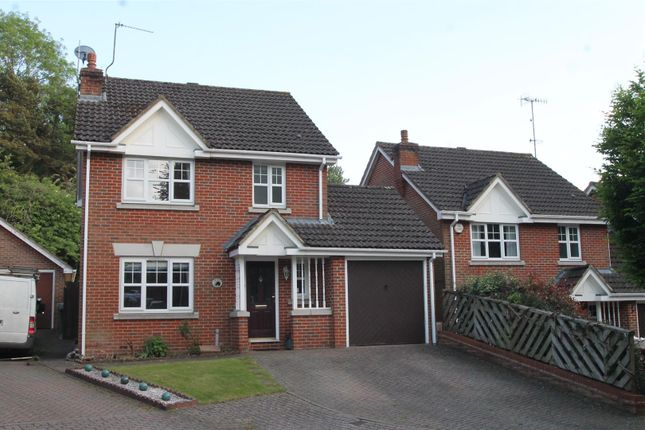 Thumbnail Detached house for sale in Badger Way, Hazlemere, High Wycombe