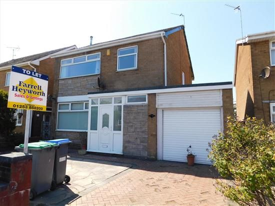 Thumbnail Property to rent in Ashfield Road, Thornton-Cleveleys