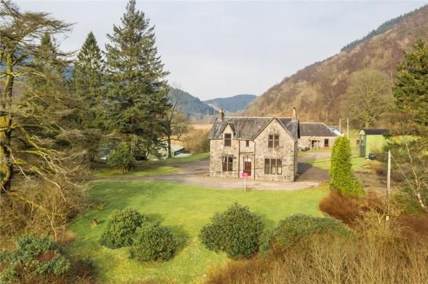 Thumbnail Detached house for sale in Stronafyne House, Arrochar, Argyll And Bute