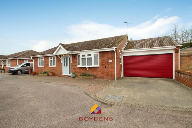 Thumbnail Detached bungalow for sale in Cornflower Close, Stanway, West Colchester