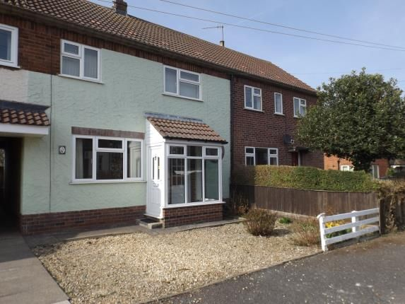 Thumbnail Terraced house for sale in Lammas Close, Husbands Bosworth, Lutterworth, Leicestershire