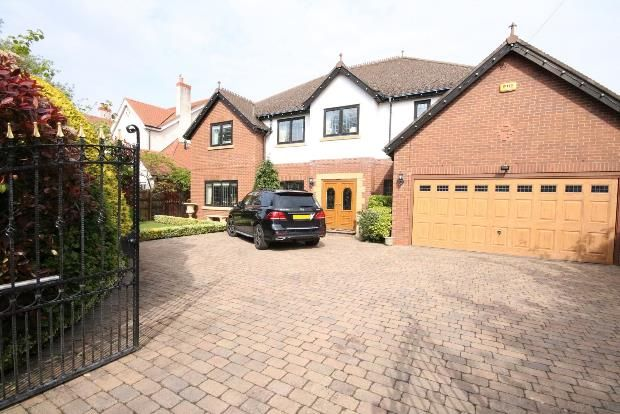 Thumbnail Detached house for sale in Argarmeols Road, Freshfield, Liverpool